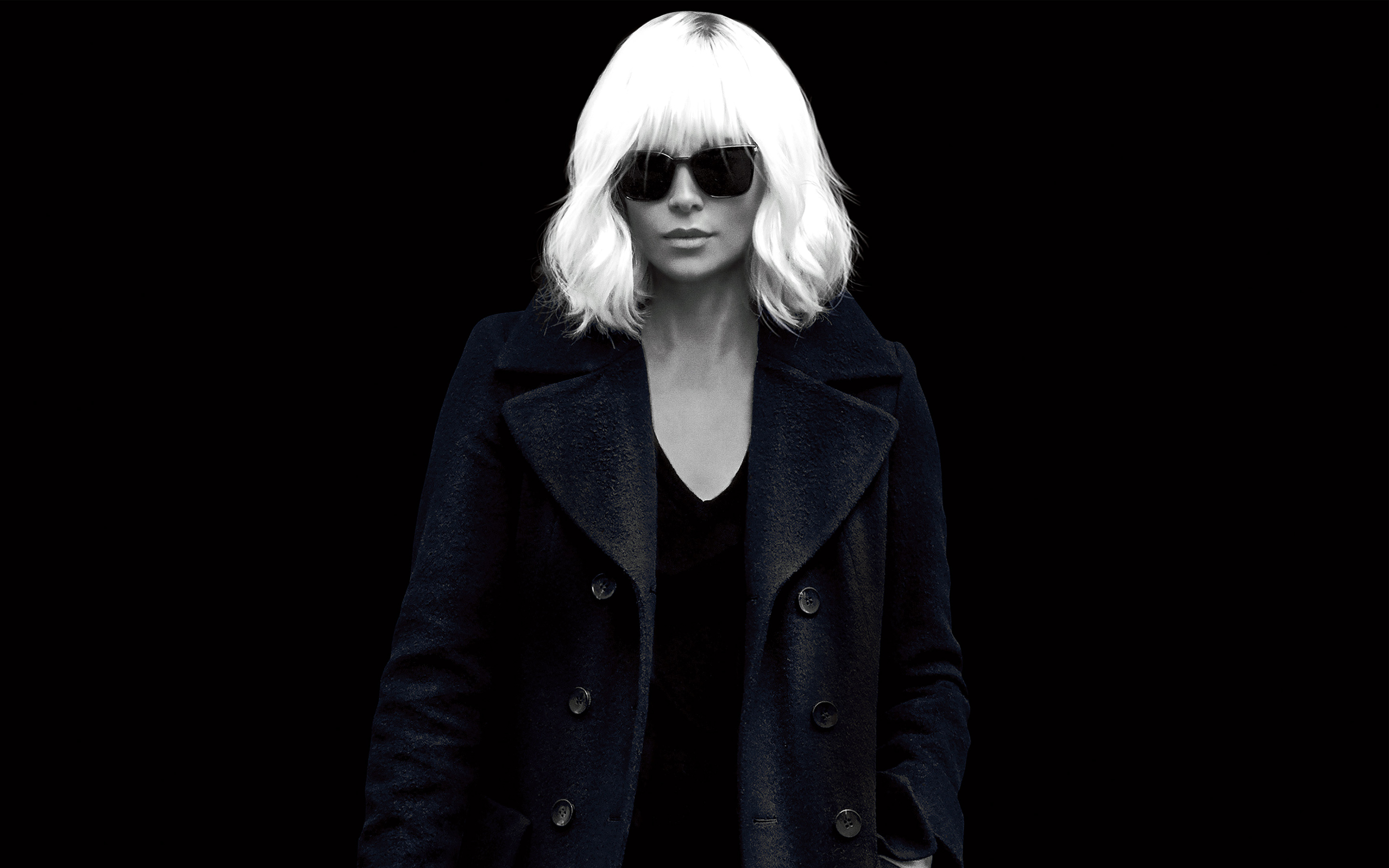 Charlize theron atomic blonde. обои скачать