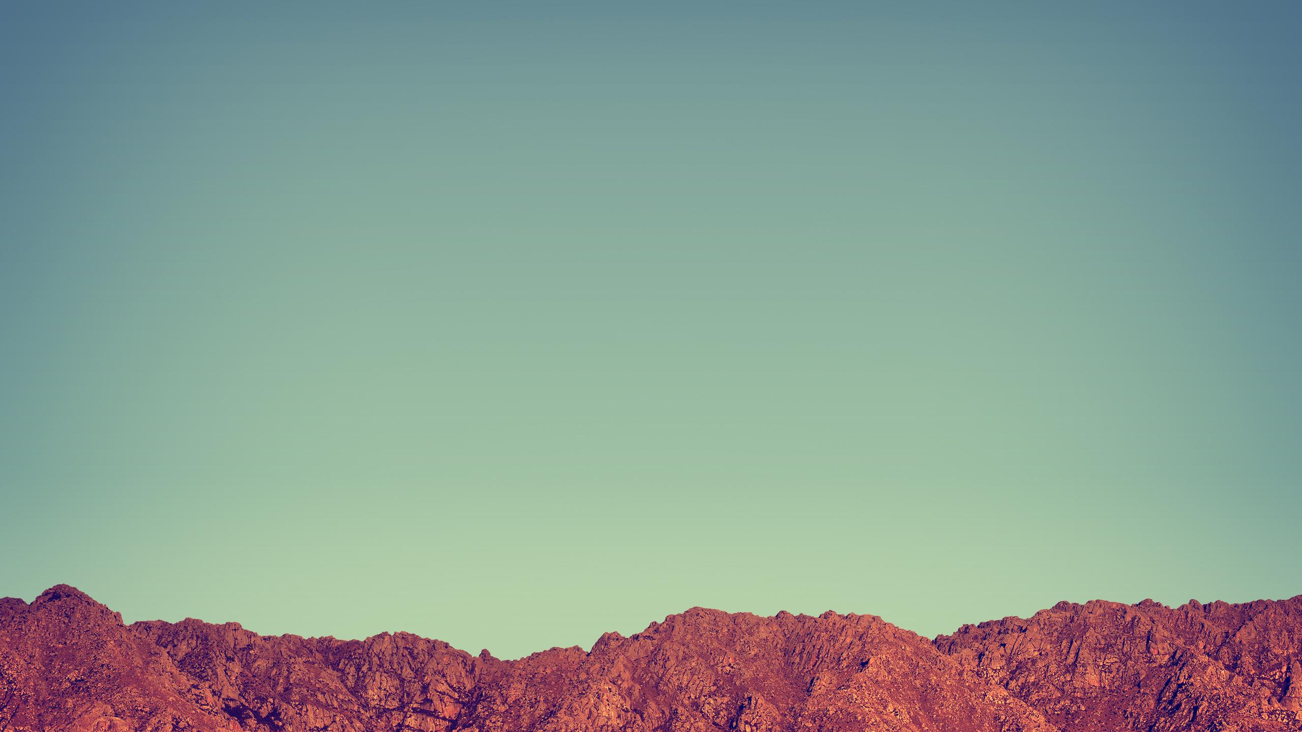 Плоские горы обои скачать