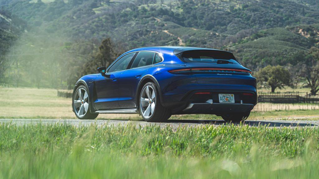 Porsche taycan turbo cross turismo 2021 4 автомобиля обои скачать