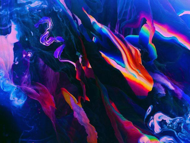 Формирование синего цвета абстракция абстракция