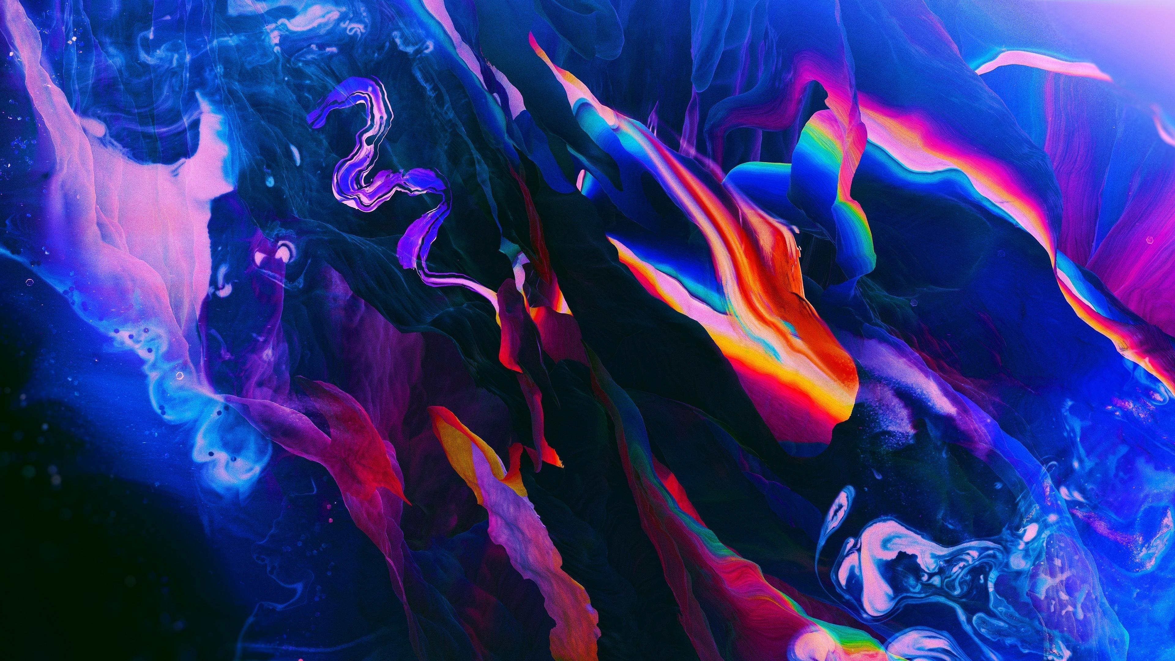 Формирование синего цвета абстракция абстракция обои скачать