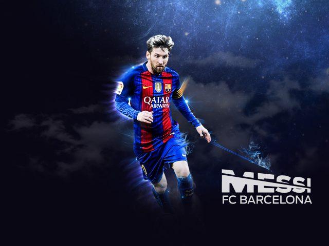 Футболист «Барселоны» Лионель Месси