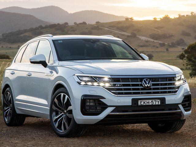 Volkswagen touareg v8 tdi r-line 2020 автомобили