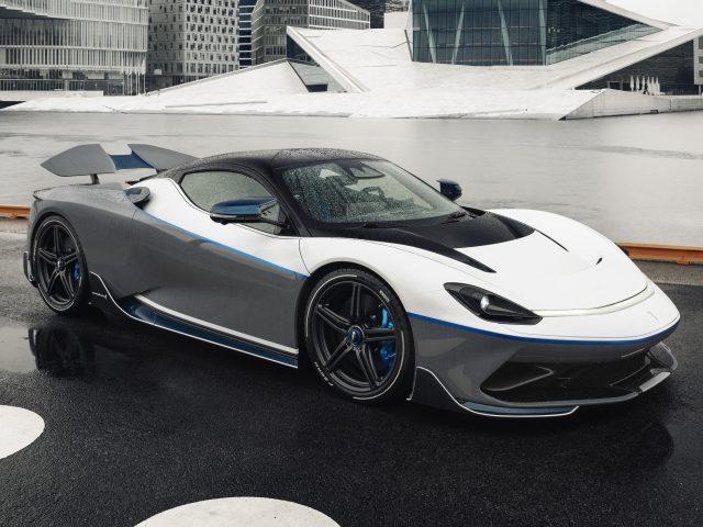 Автомобили pininfarina battista anniversario 2020