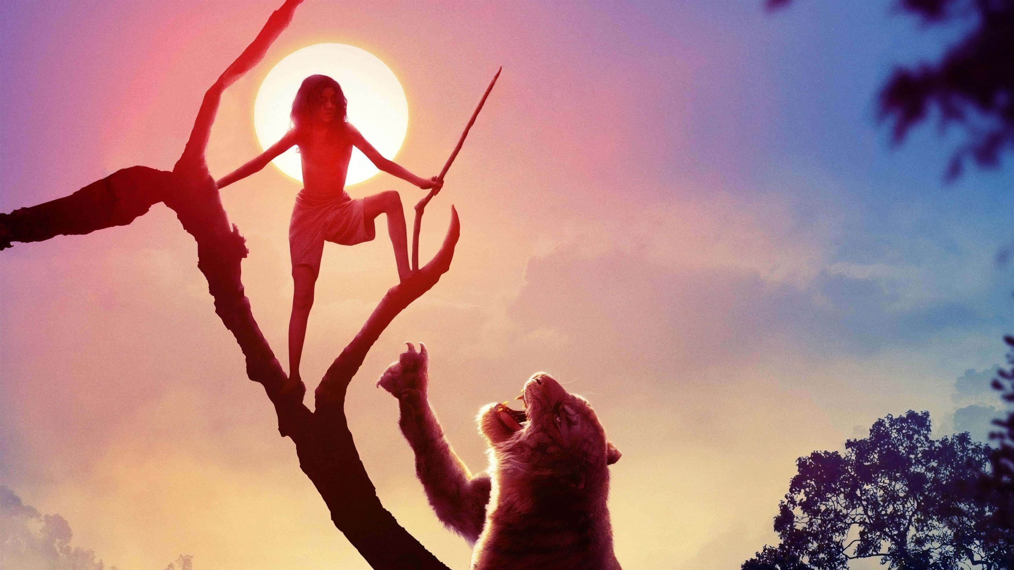 Маугли легенда джунглей обои скачать