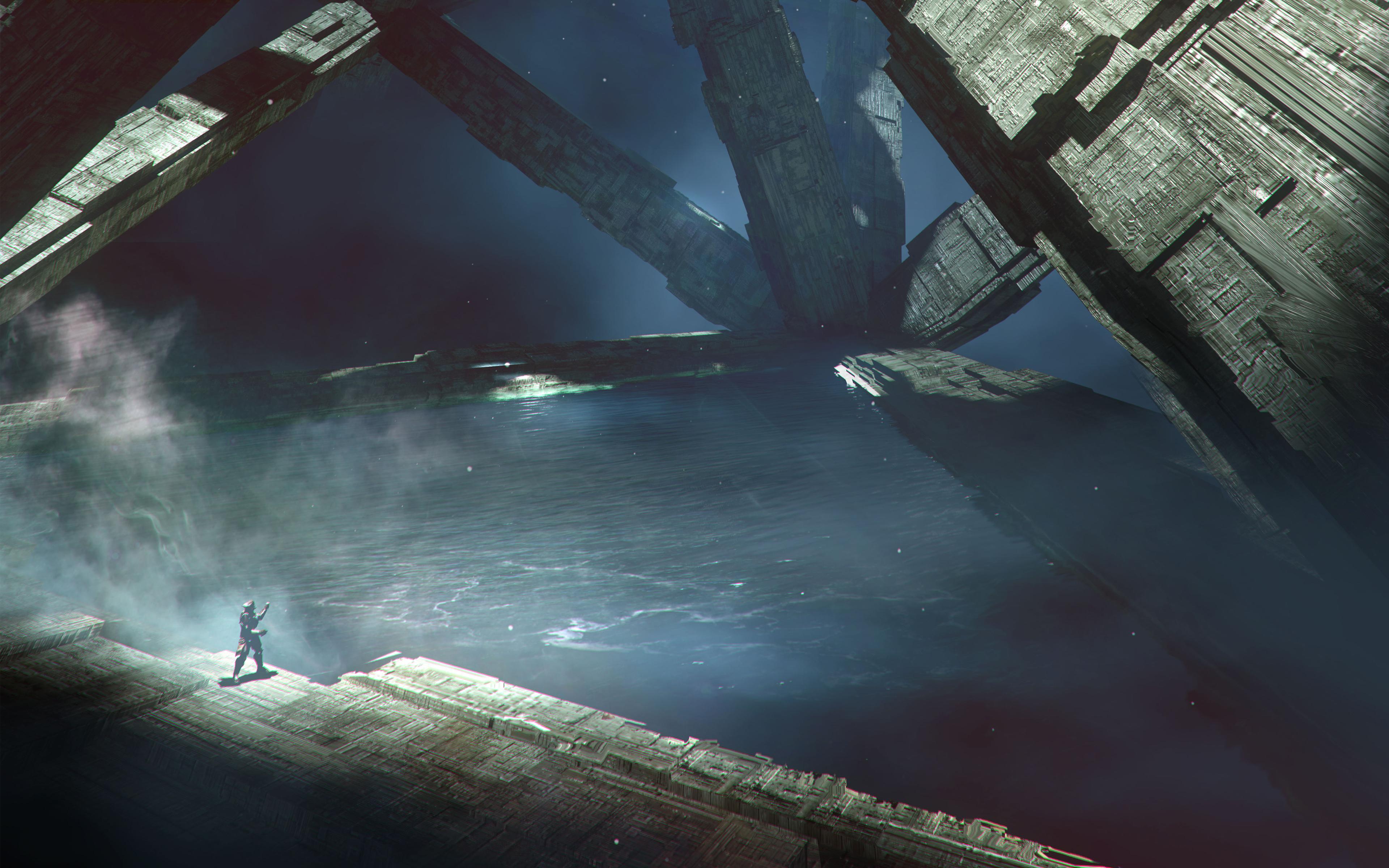 Destiny 2 планета io концепция обои скачать