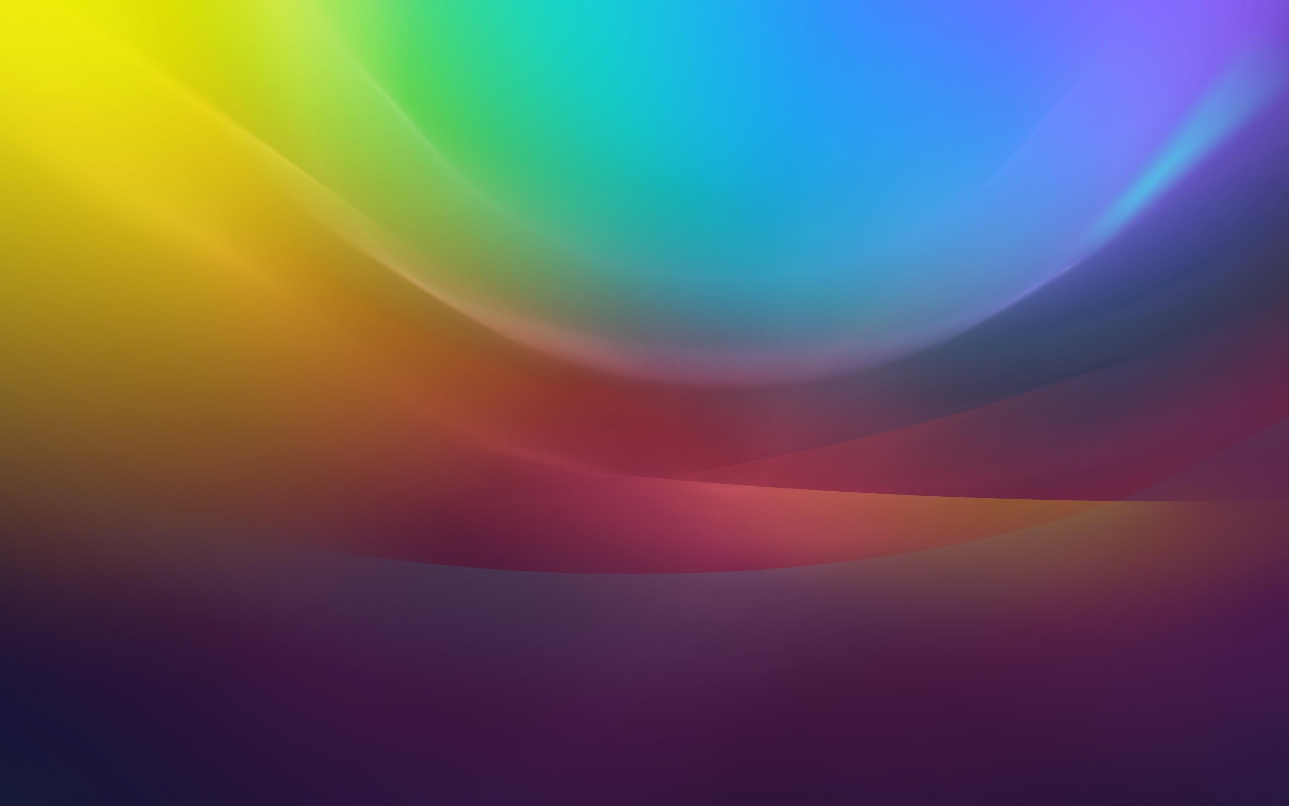 Красочные волны обои скачать