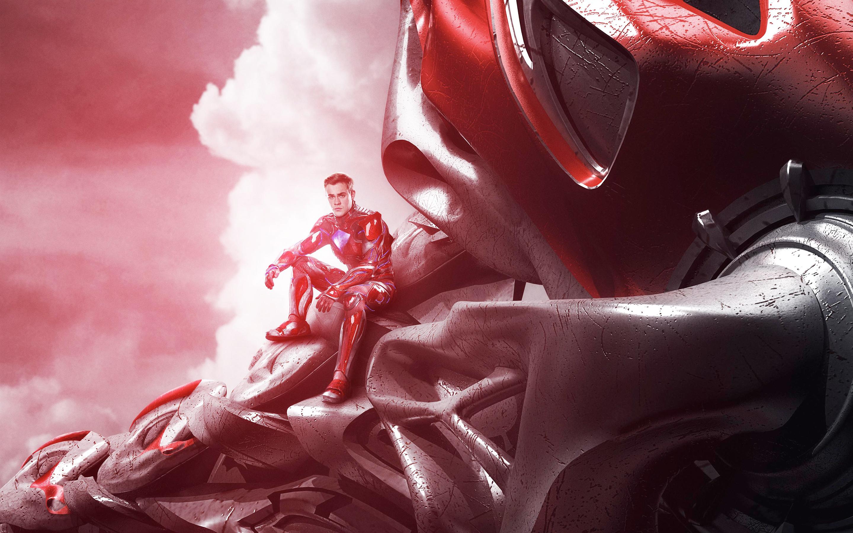 Красный Ranger могучие рейнджеры обои скачать