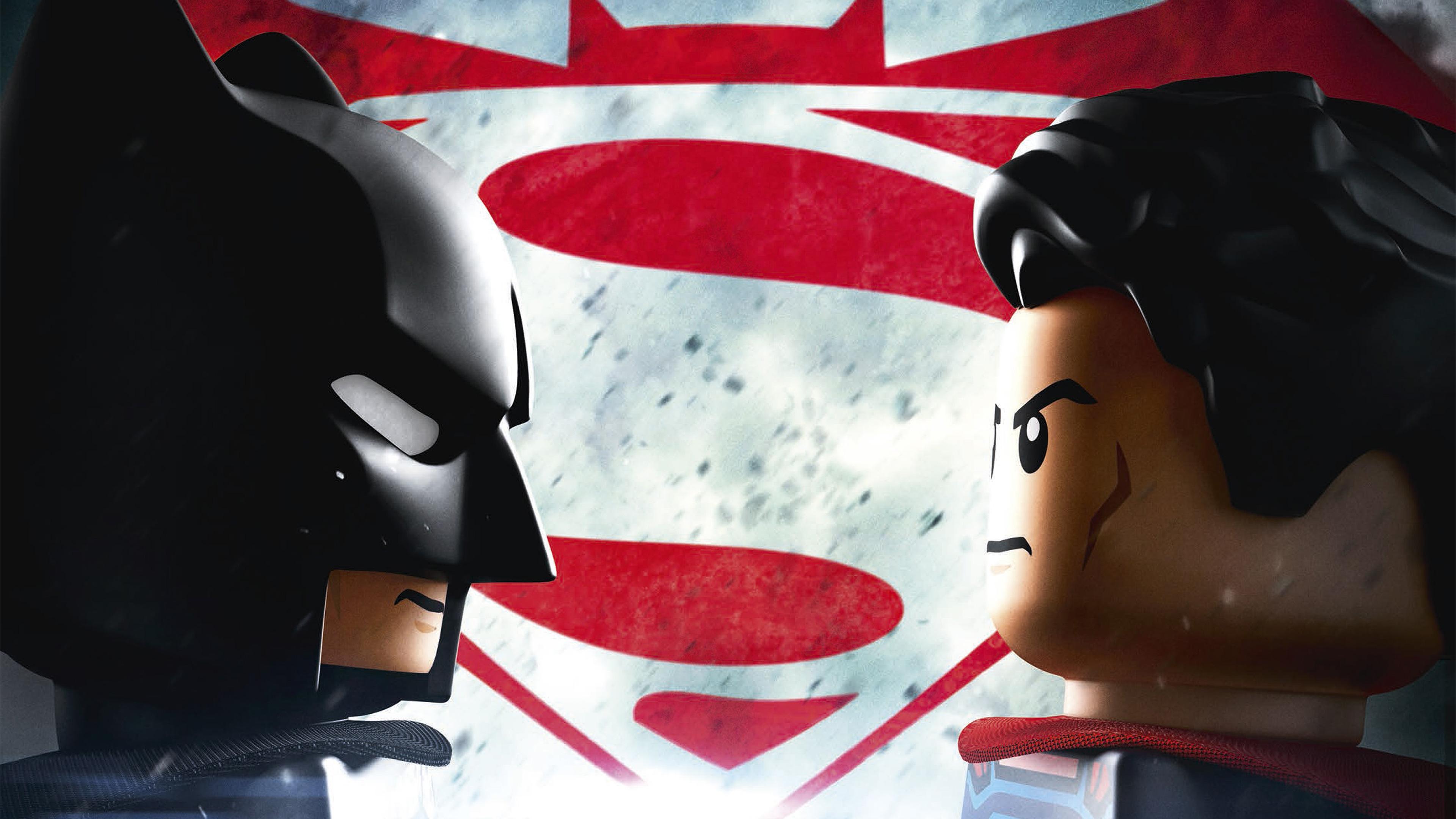 Лего Бэтмен Лего супермен обои скачать