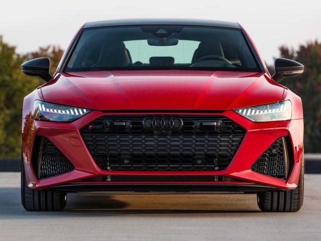Красный 2021 audi rs 7 sportback автомобили