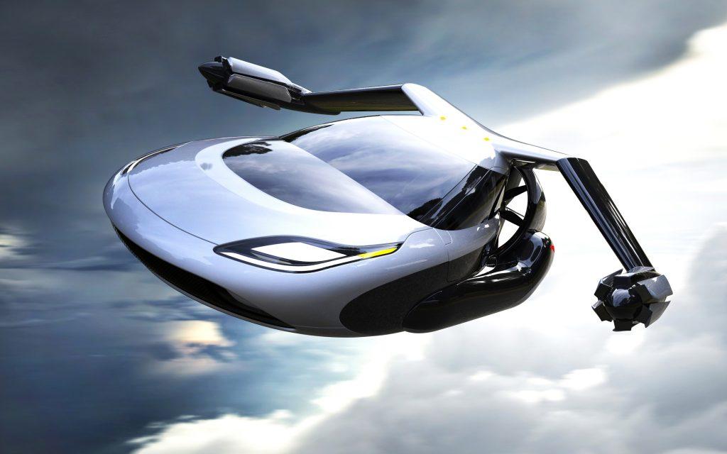 Terrafugia летающий автомобиль ТФ х. обои скачать