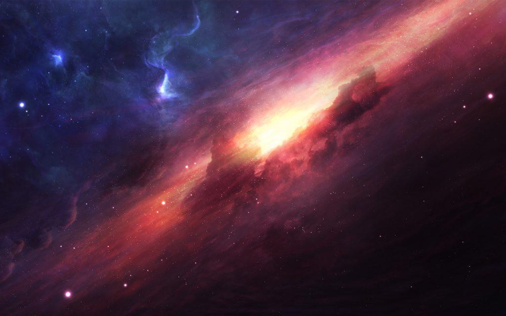 Цифровое пространство Вселенной 8к. обои скачать