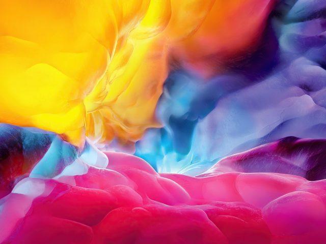 Взрыв цветов абстракция