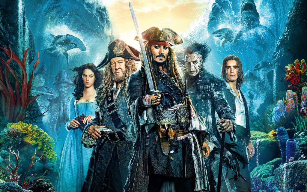 Пираты Карибского моря мертвецы не рассказывают сказки. обои скачать