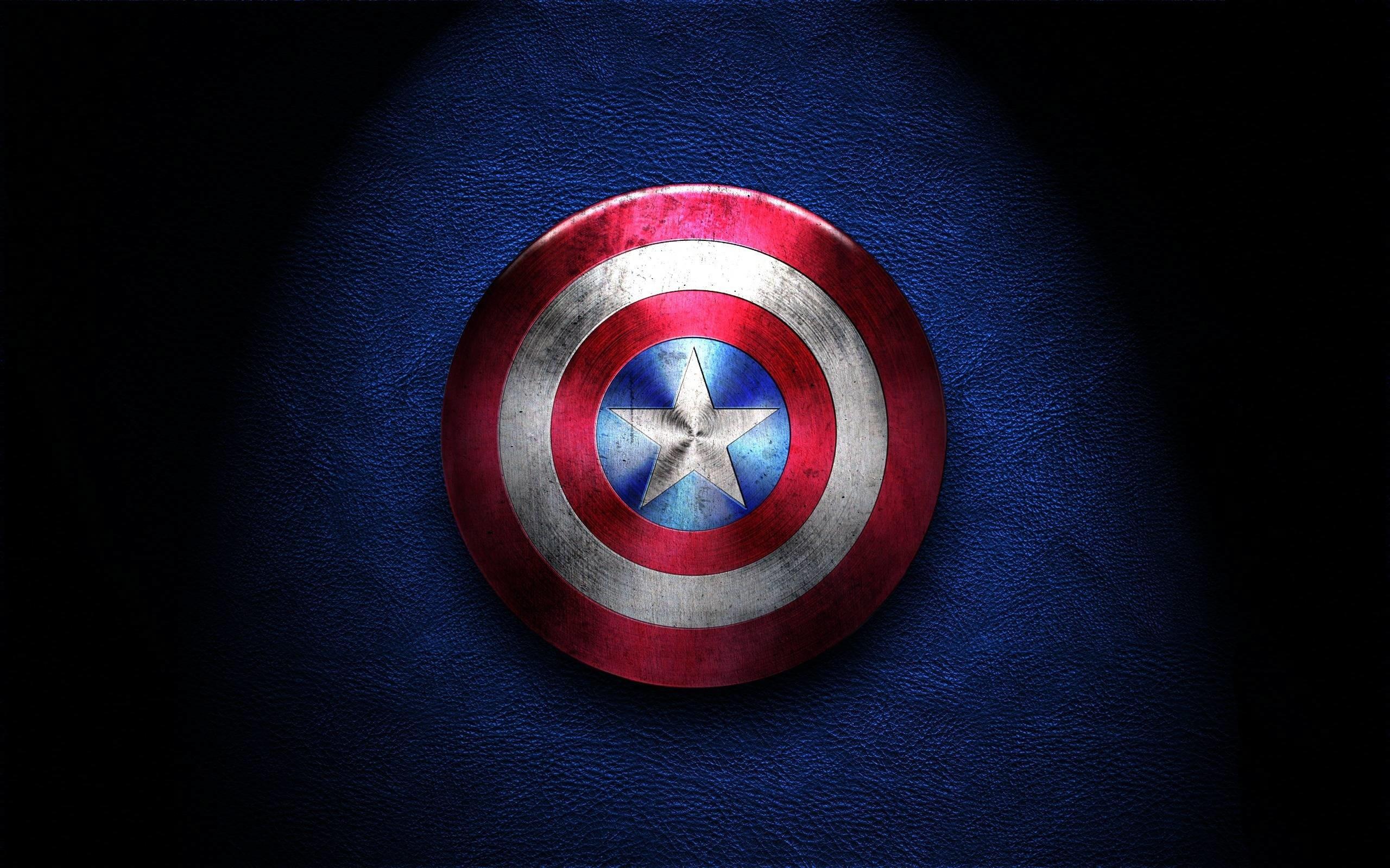 Щит Капитана Америки обои скачать