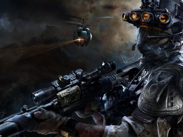 Снайпер воин-призрак 3