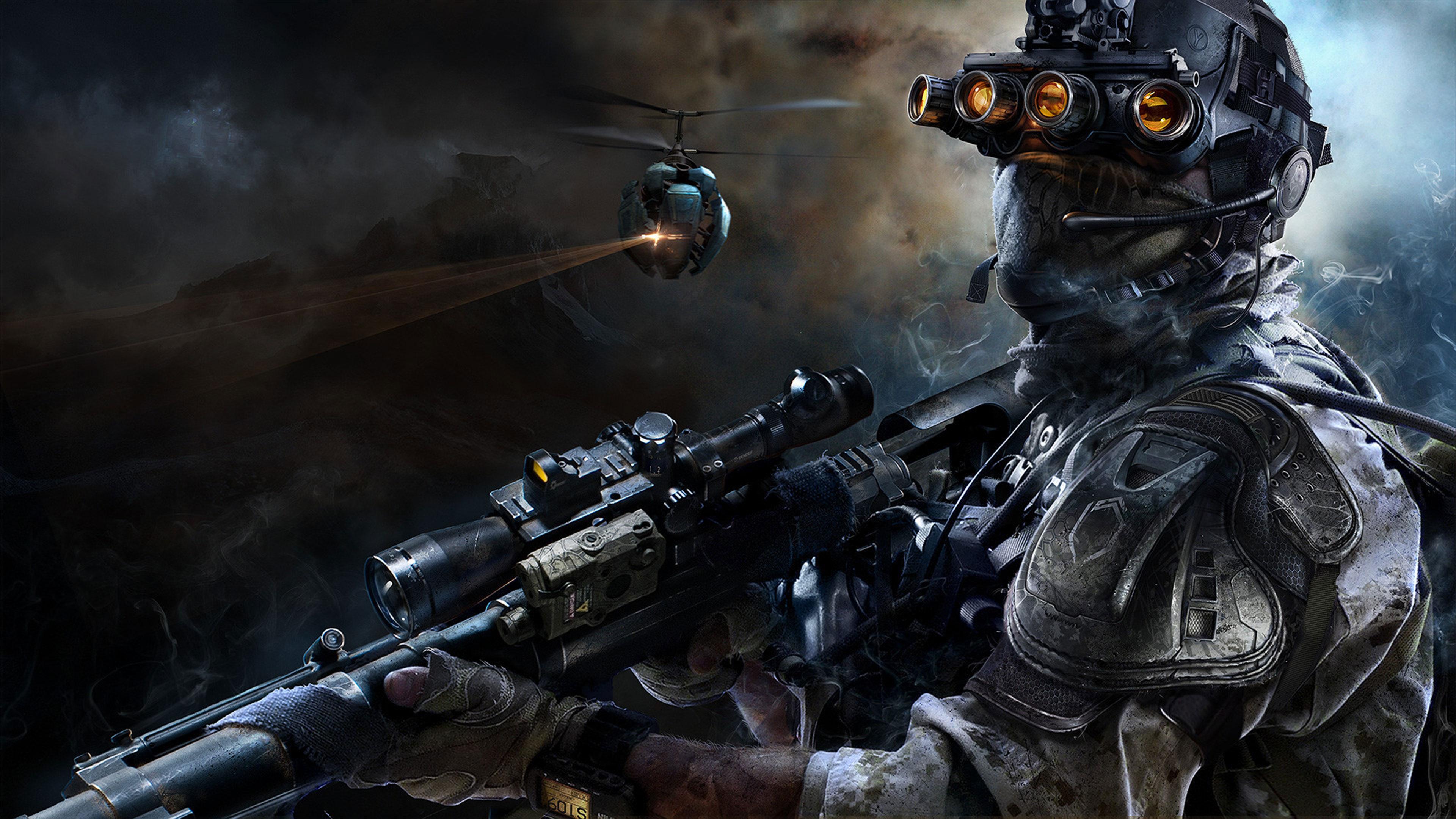 Снайпер воин-призрак 3 обои скачать