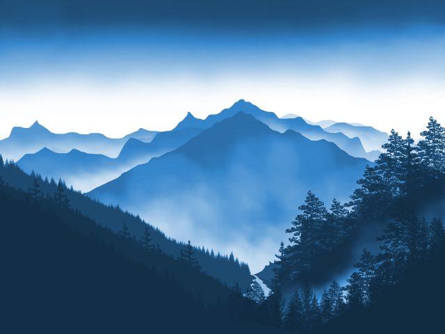 Художественный пейзаж