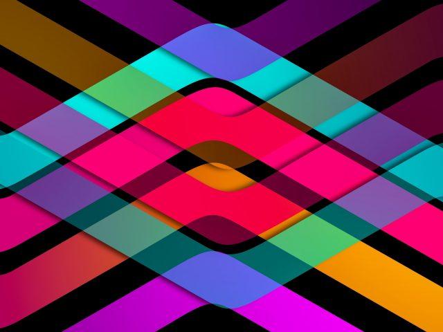Красочные художественные линии формы абстракция абстракция