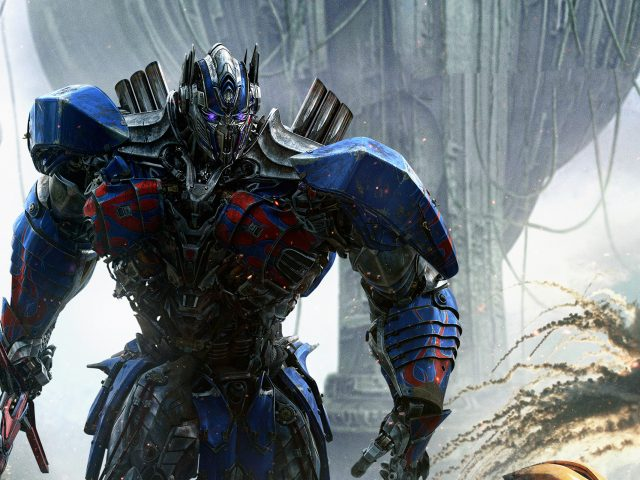 Optimus prime transformers the last knight.