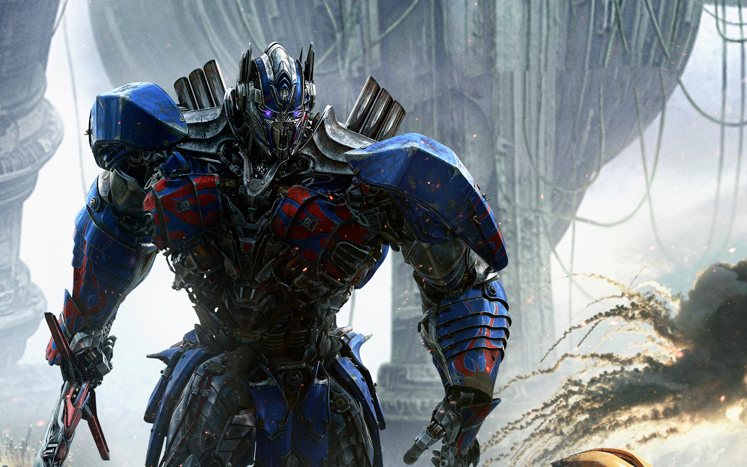 Optimus prime transformers the last knight. обои скачать