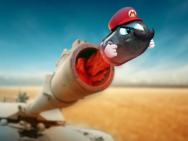 Супер Марио танковая Одиссея