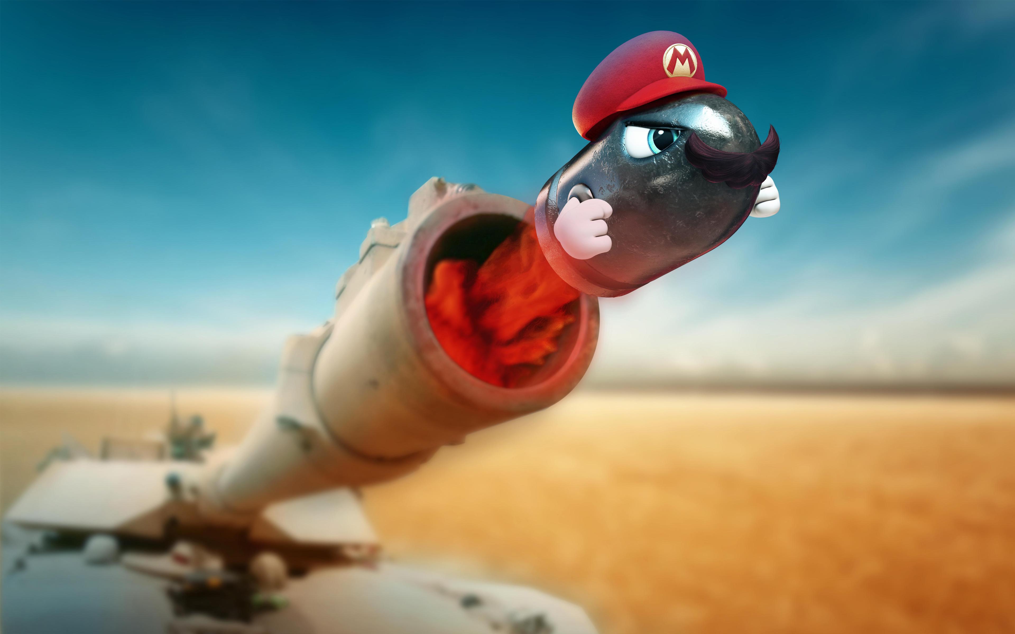 Супер Марио танковая Одиссея обои скачать