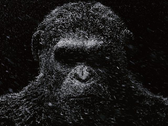 Цезарь война за планету обезьян.