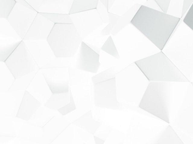 Яркие белые кубики абстрактные