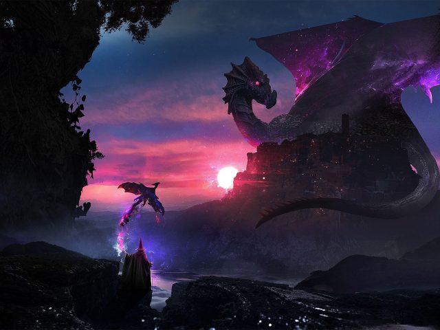 Маг драконье искусство