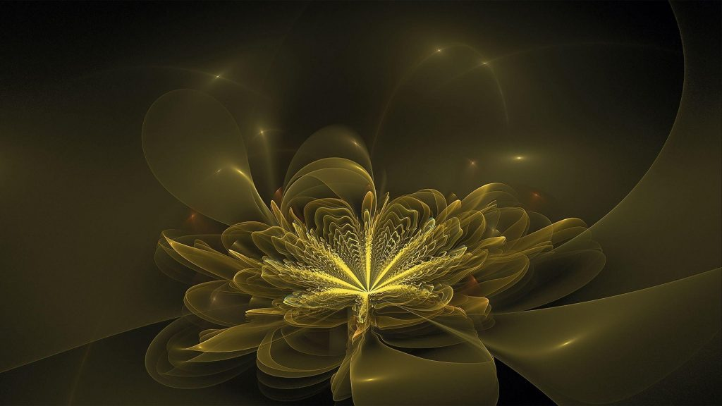 Размытые абстрактные фрактальные узоры обои скачать