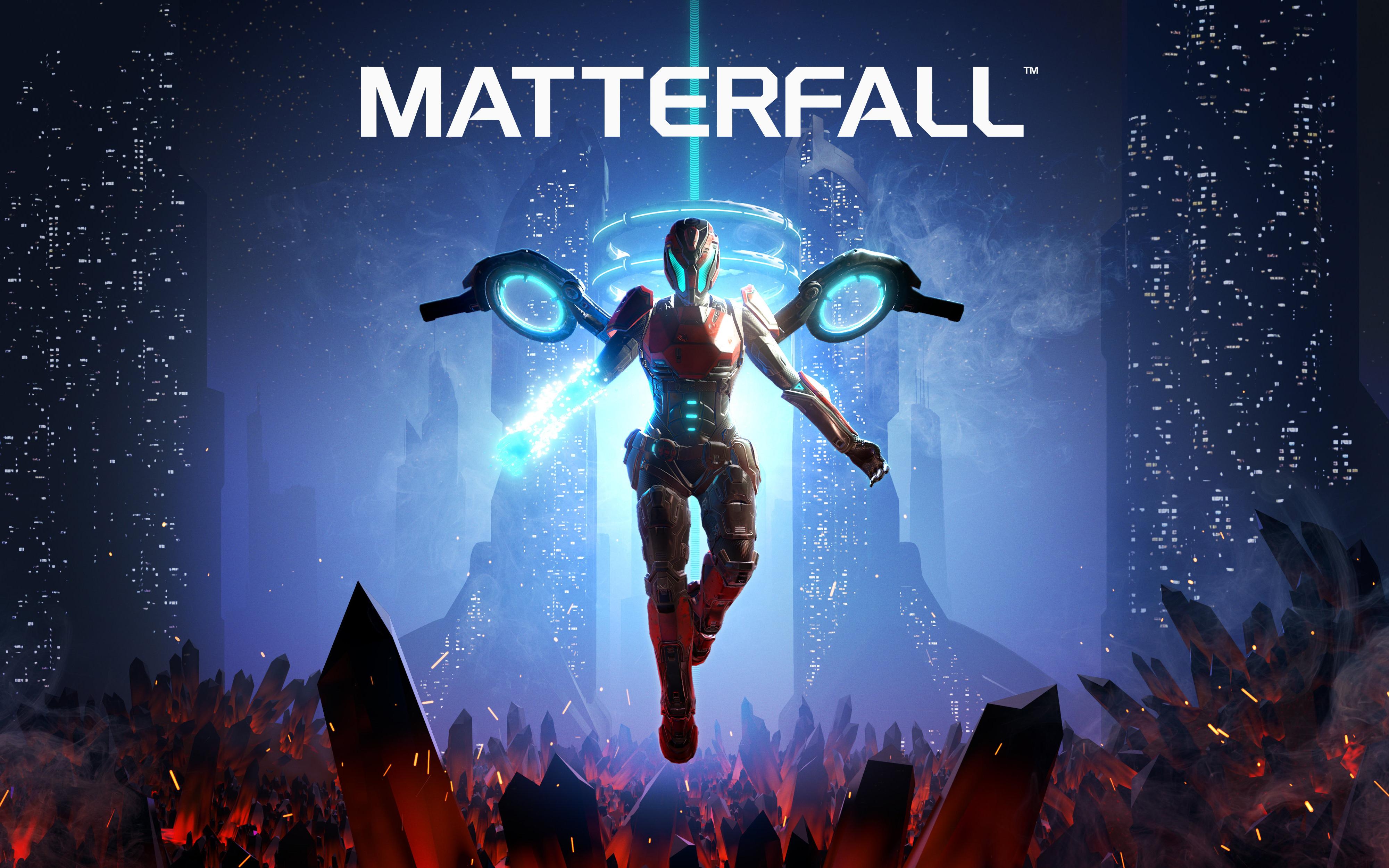 Matterfall игры ps4 обои скачать