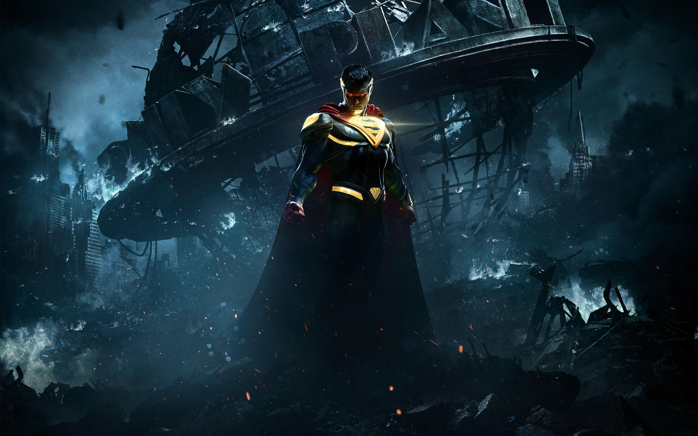 Несправедливость 2 супермен. обои скачать