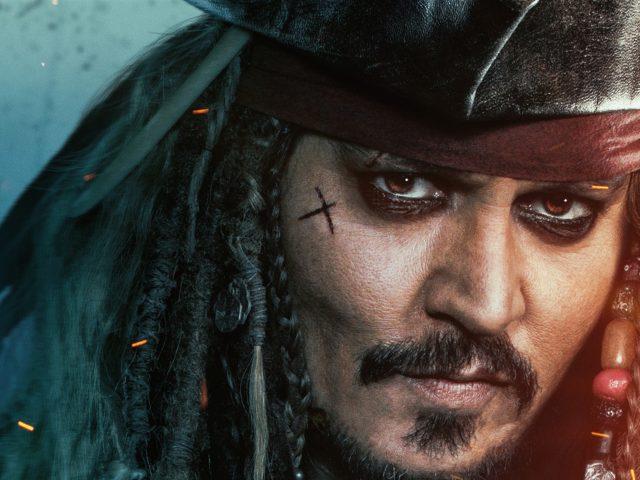 Пираты Карибского моря мертвецы не рассказывают сказки Джек Воробей.