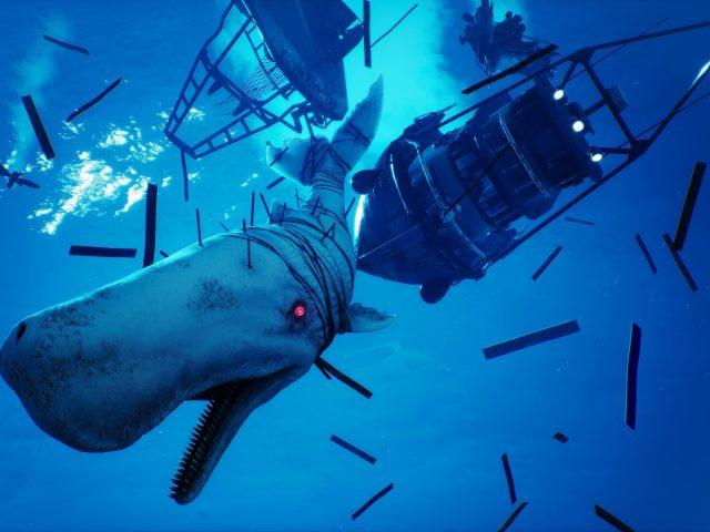 Охотьтесь в открытом море как гипер эволюционировавшая супер акула в людоеде