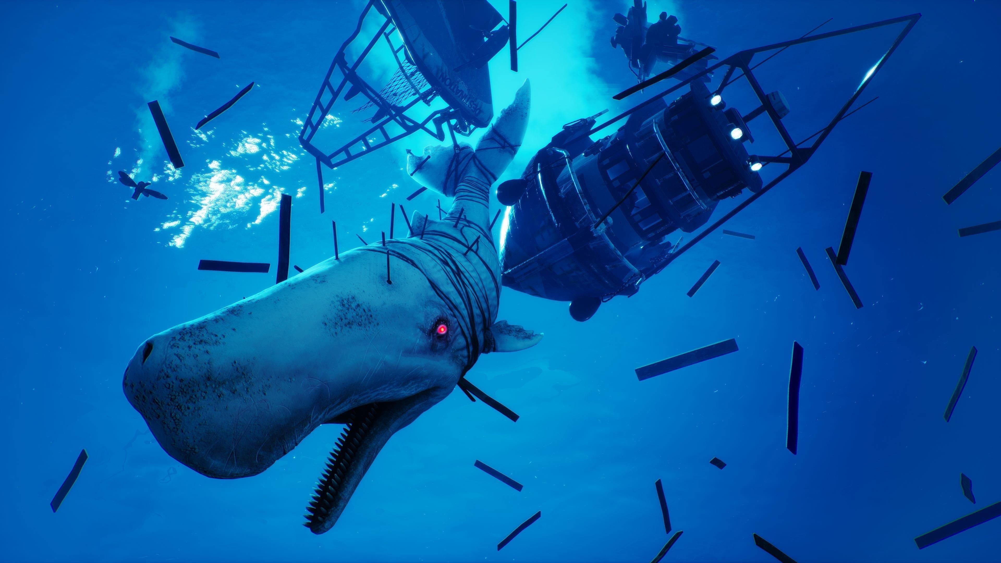 Охотьтесь в открытом море как гипер эволюционировавшая супер акула в людоеде обои скачать