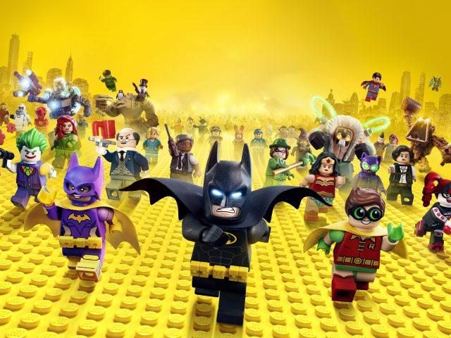 Лего Бэтмен видео 4к 8к.