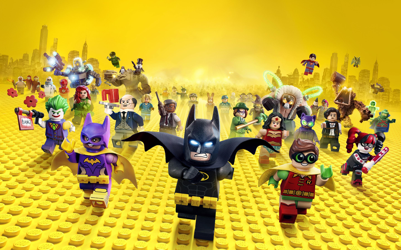 Лего Бэтмен видео 4к 8к. обои скачать