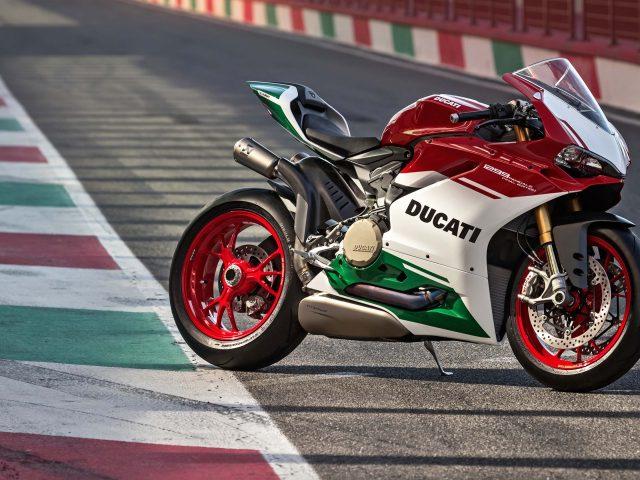 Ducati 1299 panigale r окончательное издание