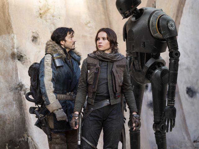 Разбойник один Звездные войны история Фелисити Джонс.