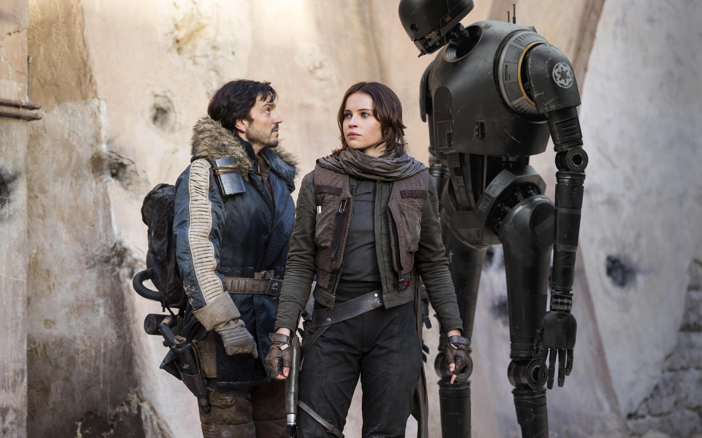 Разбойник один Звездные войны история Фелисити Джонс. обои скачать