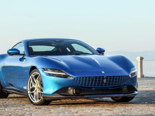 Ferrari roma 2021 4 автомобиля