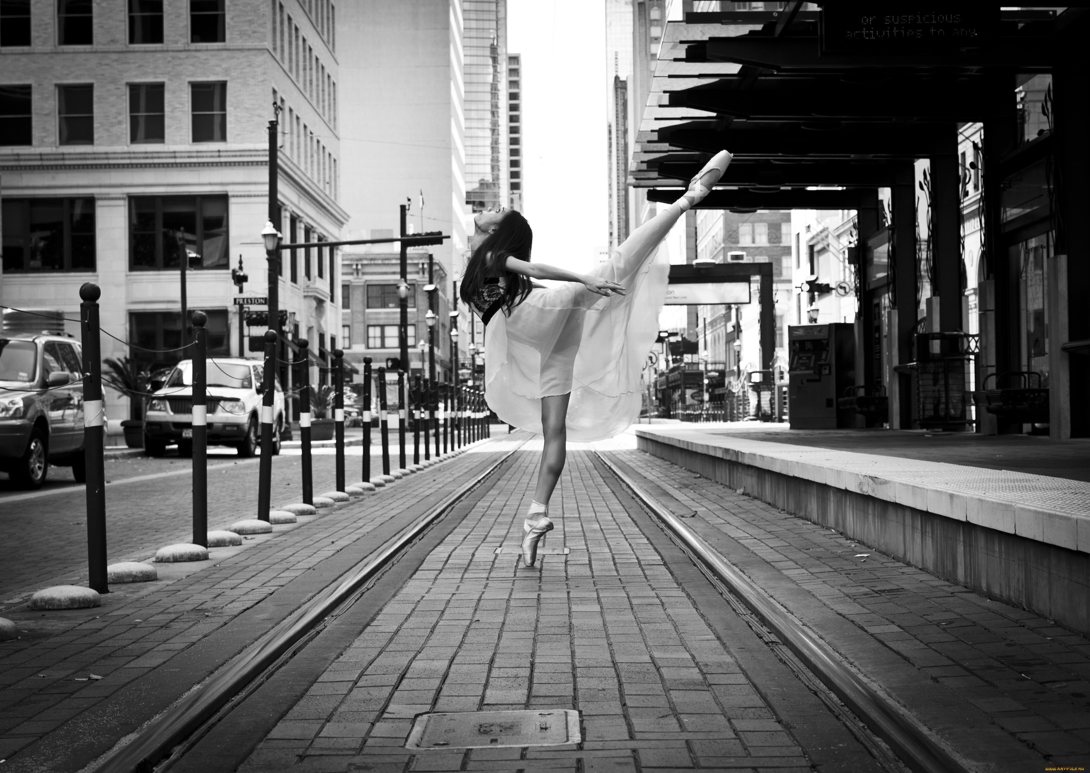 Девушка, балерина обои скачать