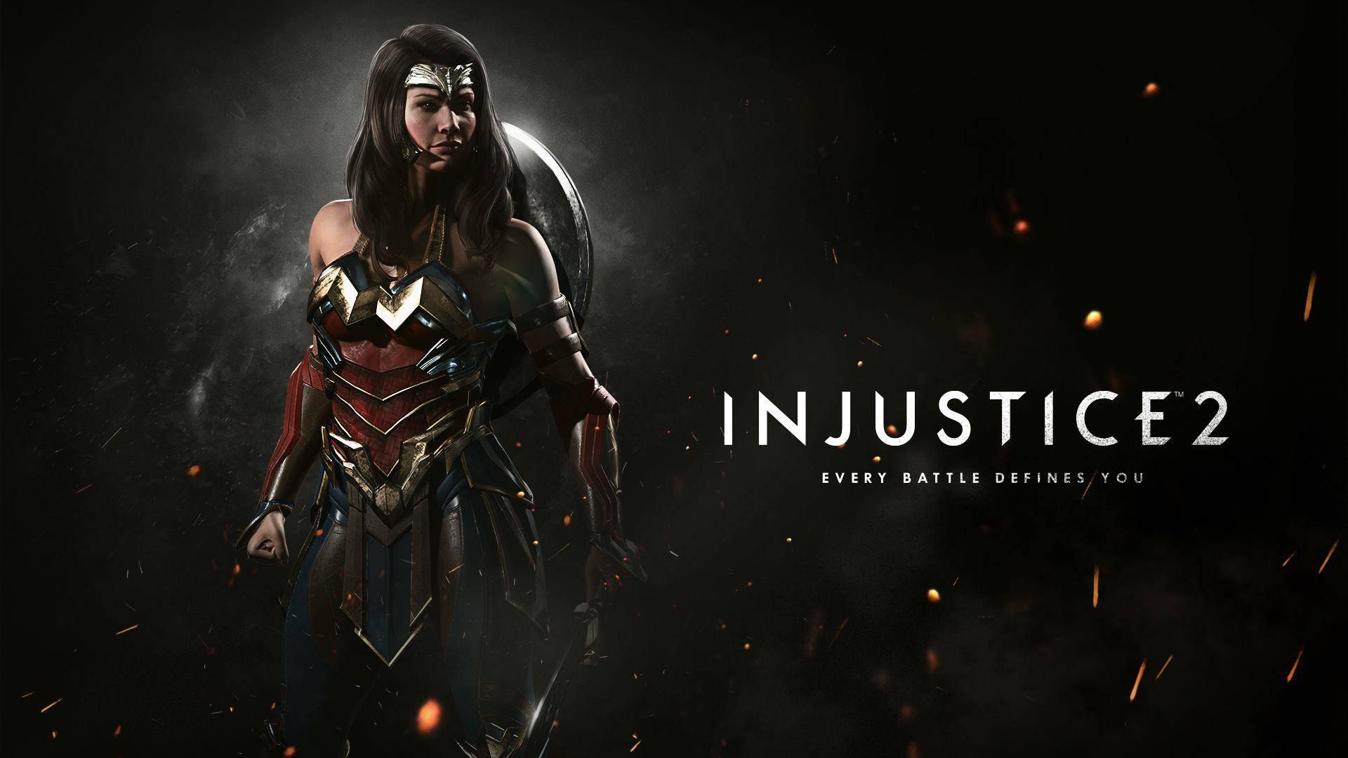 Wonder woman injustice 2. обои скачать