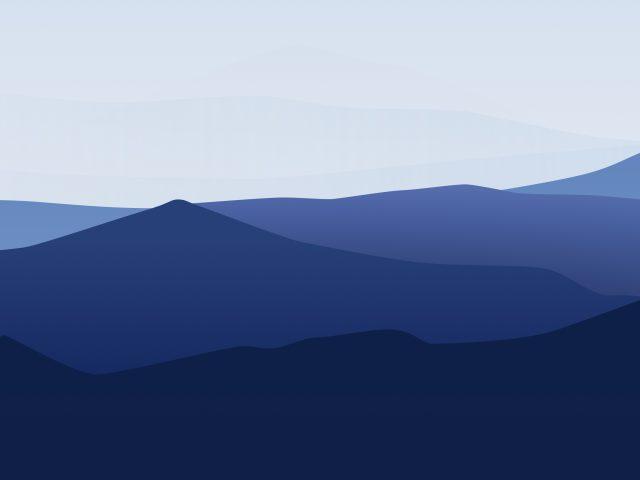 Минимальный ландшафт гор
