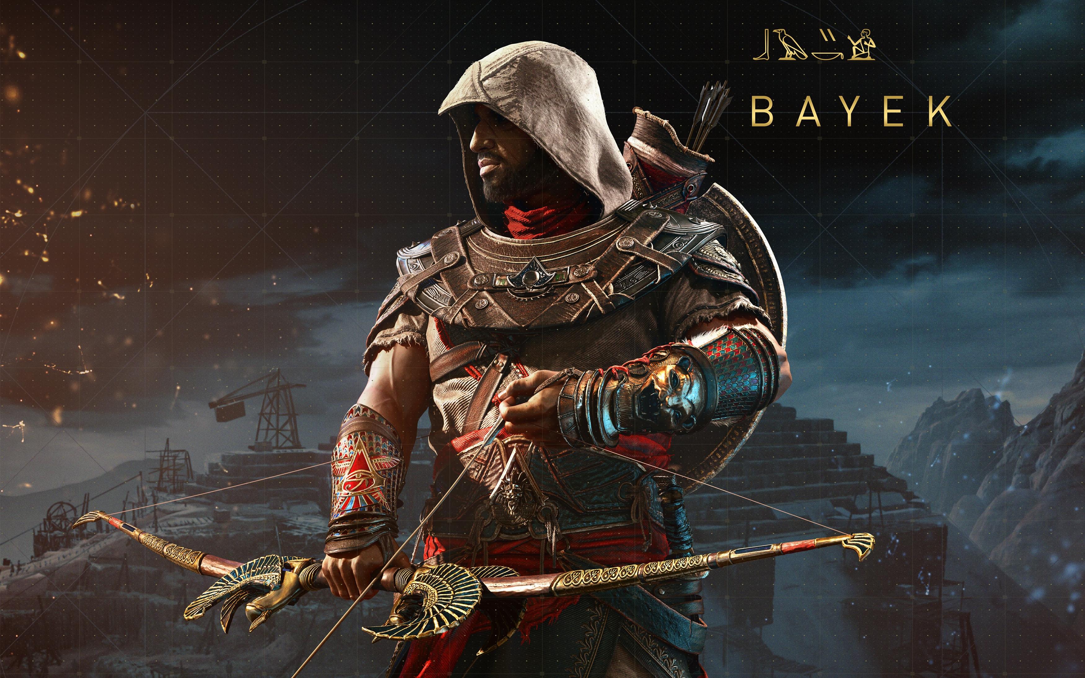 Байек Assassins creed происхождение скрытые обои скачать