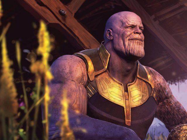 Танос в Мстителях Война бесконечности