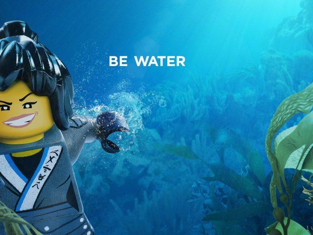 Ня быть вода Лего ниндзяго