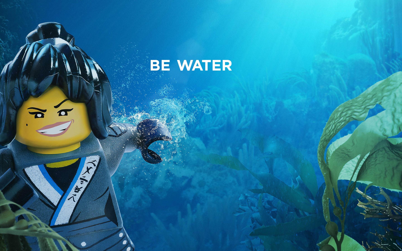 Ня быть вода Лего ниндзяго обои скачать