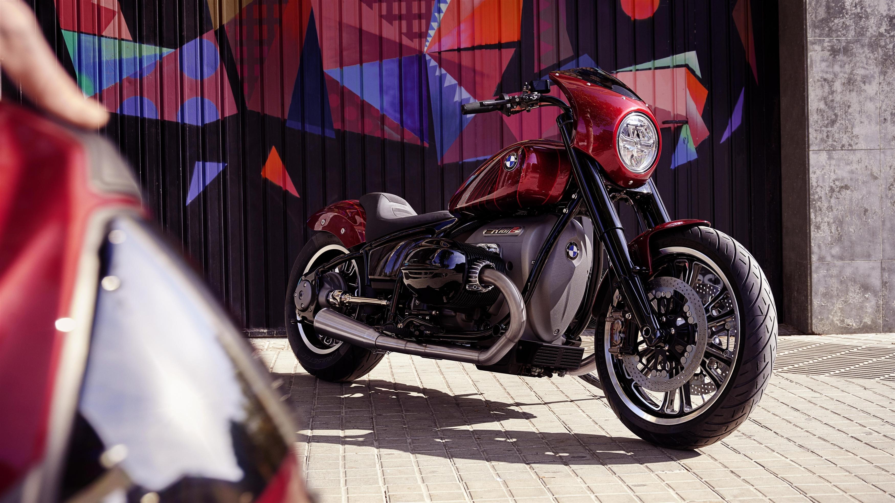 Bmw motorrad concept r182 обои скачать